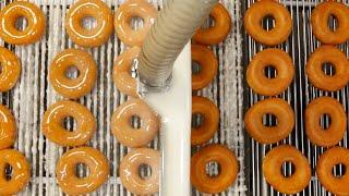 How Krispy Kreme Doughnuts Are Made