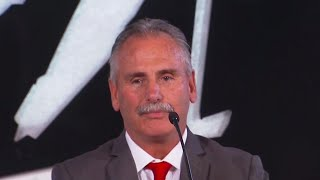 Willie Desjardins introduced as head coach of Canadian men