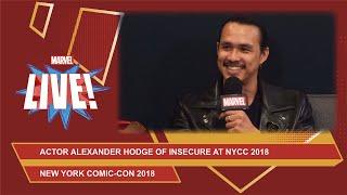Actor Alexander Hodge of HBO