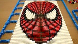Spider-Man in 10,000 Dominoes!