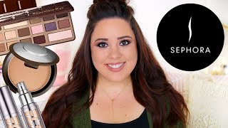 12 PRODUCTS I ALWAYS BUY AT SEPHORA! | MOST REPURCHASED MAKEUP