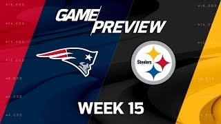 New England Patriots vs. Pittsburgh Steelers | NFL Week 15 Game Preview | MTS