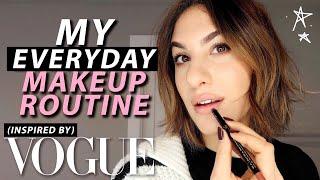 EVERYDAY Makeup Routine: GRWM VOGUE INSPIRED!   Jamie Paige