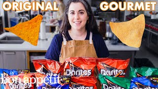 Pastry Chef Attempts to Make Gourmet Doritos | Gourmet Makes | Bon Appétit