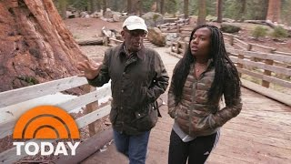 Al Roker, Daughter Leila Explore Sequoia National Park | TODAY