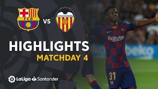 Highlights FC Barcelona vs Valencia CF (5-2)