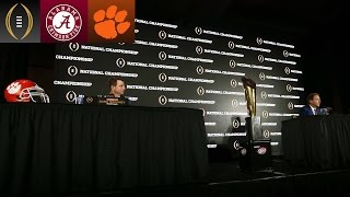 Nick Saban Shares Impressions Of Clemson | Inside The National Championship