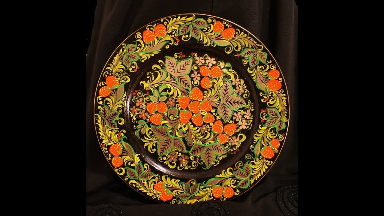 Мастер хохломской росписи