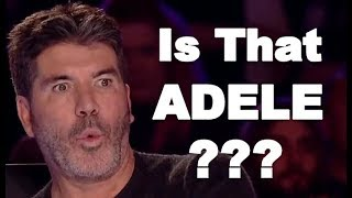 ADELE VOICE, ADELE X FACTOR, BEST ADELE