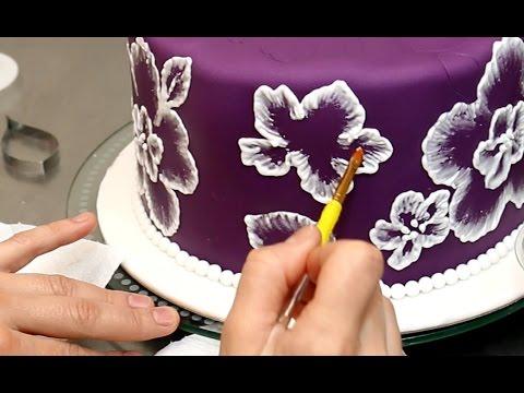Как рисуют на мастике