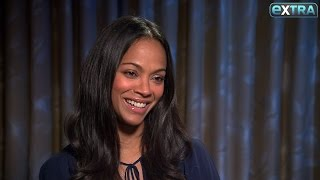 Zoe Saldana on Life with Her Twin Boys, Working with Ben Affleck on