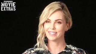 "TULLY | On-set visit with Charlize Theron ""Marlo"""