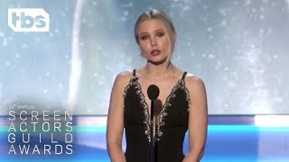 Kristen Bell: Opening Monologue | 24th Annual SAG Awards | TBS