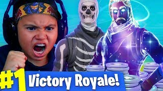 9 YEAR OLD LITTLE KID WHO CLAIMS TO BE NINJA GETS TRIGGERED AND EXPOSED! FORTNITE BATTLE ROYALE RAGE