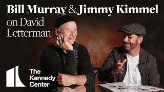 Jimmy Kimmel and Bill Murray on David Letterman