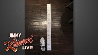 Jimmy Kimmel Puts CVS on Notice for Long Receipts