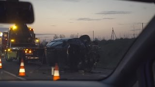 Extremer Autobahn Unfall!