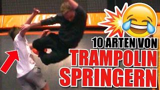 10 ARTEN VON NERVIGEN TRAMPOLINSPRINGERN im Jump House