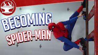 Climbing Walls LIKE SPIDER-MAN!