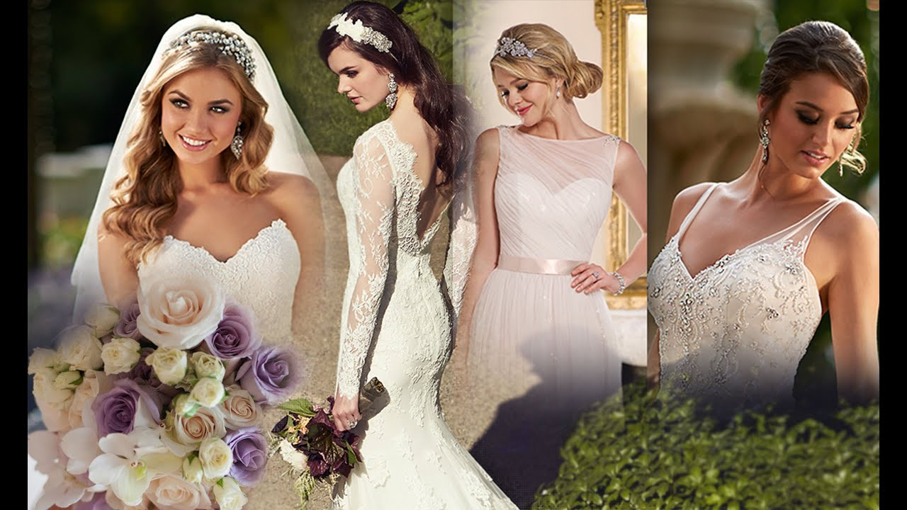 свадьбы платья прически