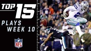 Top 15 Plays of Week 10   NFL 2018 Highlights