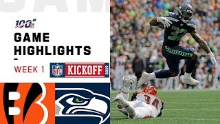 Bengals vs. Seahawks Week 1 Highlights   NFL 2019