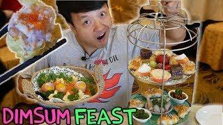 16 Item Dim Sum Breakfast in Toronto!