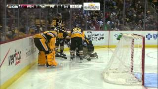 Gotta See It: Ovechkin goes chopping, finds Letang