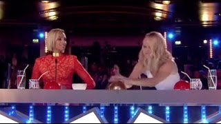 Little girl takes on a very HARD SONG and gets a HUGE GOLDEN BUZZER