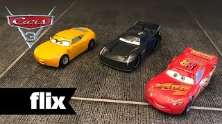 Cars 3: Hands On With Lightning McQueen, Jackson Storm, Cruz Ramirez Toys