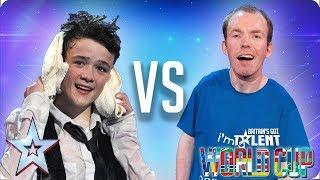 QUARTER-FINALS: George Sampson vs Lost Voice Guy   Britain