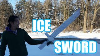 ICE SWORD! (Made With Pykrete) | Sufficiently Advanced