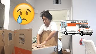 WATCH ME PACK!! THE FIRST MOVING VLOG! VLOGMAS DAY 8