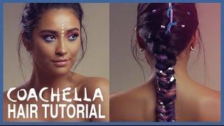 Unicorn Inspired Coachella Hair Tutorial   Shay Mitchell