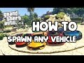 GTA 5: How to Spawn Any Vehicle in the G...mp3