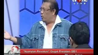 """Ruhut Sitompul Vs Eggi Sudjana ( """"Nyanyian Revolusi"""" Gugat Presiden SBY )"""