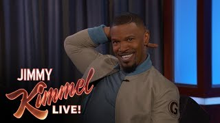 Jamie Foxx Impersonates LeBron James