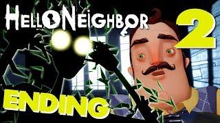Hello Neighbor (Full Game) - FULL ACT 3 + ENDING, Manly Let