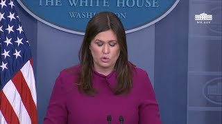 2/20/18: White House Press Briefing