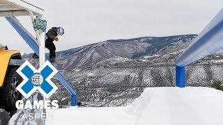Men's Snowboard Slopestyle: FULL BROADCAST | X Games Aspen 2018