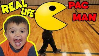 Real Life PAC MAN GAME!