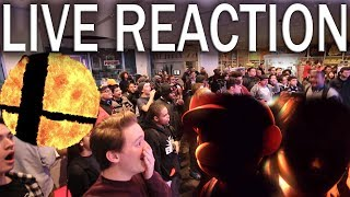 Live Group Nintendo Direct Reaction @Nintendo NY Store