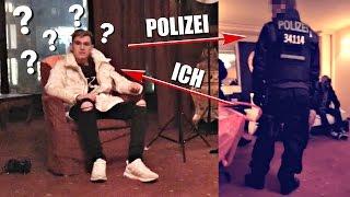 Polizei STÜRMT mein HOTELZIMMER !!