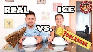 REAL FOOD VS. ICE FOOD - was schmeckt besser? DER ULTIMATIVE Test | TBATB