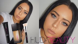 NEW Huda Beauty Faux Filter Foundation Review + Wear Test