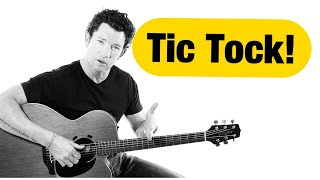 How to Strum a Guitar with Perfect Timing | Tick Tock Technique | Mark McKenzie
