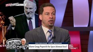 Gregg Popovich deserves blame for huge loss to Rockets - True or false? | SPEAK FOR YOURSELF