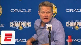 Steve Kerr gives update on Stephen Curry