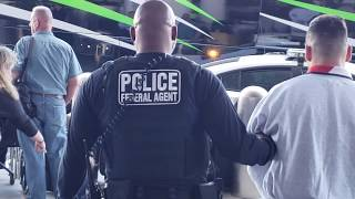 Immigration custom  Enforcement arrest at LAX Ice not happy with my video