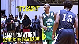 Jamal Crawford DESTROYS The Drew League Squad!! YOU CAN